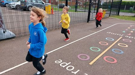 Pupils from Melbourn Primary School are taking on a 'Money for Miles' challenge by walking the distance from Melbourn to...