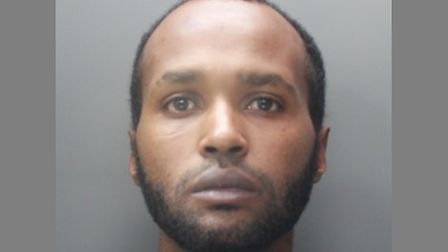 Mikele Abraham has been sentenced for hitting another man 10 times with a four-foot metal pole in St Albans. Picture...
