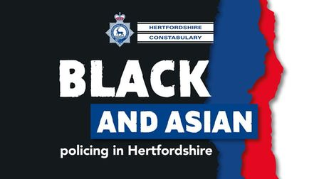 Hertfordshire police have been celebrating Black History Month this October. Picture: Courtesy of Hertfordshire Constabulary