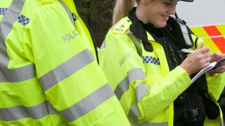 Police have issued a messaged about ant-social behaviour following a vandalism incident in Royston. Picture: Archant