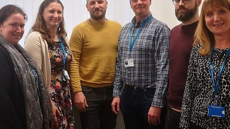 The IPS team supports people with mental health to get back to work.