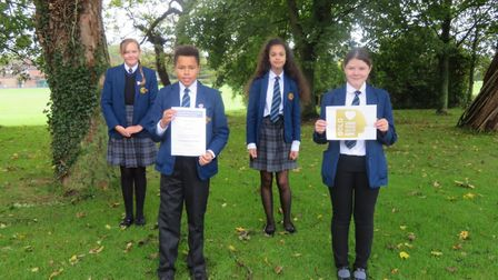 A school is celebrating after it received the highest level of an award for its work in tackling mental health...