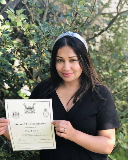 Preet Cox, who organises the St Albans Rainbow Trail, has been recognised for her community efforts with a Hero of...