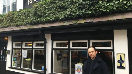 Landlord of The Boot pub, Sean Hughes, is leading the Save St Albans Pubs campaign.