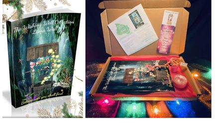Liana Wall's book, Believe and You Shall Find, is available in as a special Magical Christmas Gift Box