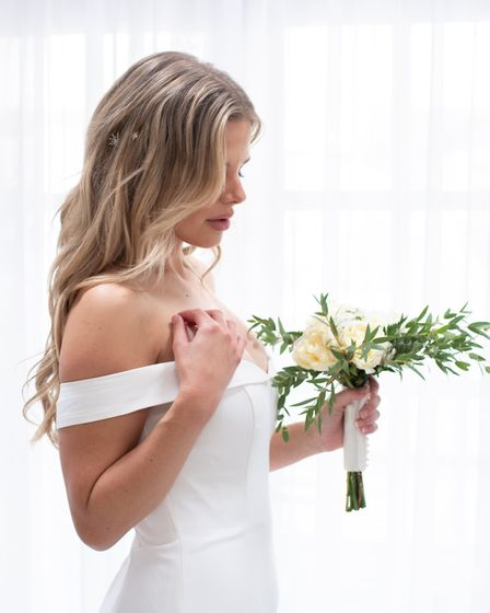 Amy Richardson of bridal boutique What Alice Wore got creative, and planned a styled shoot with local once-busy wedding...