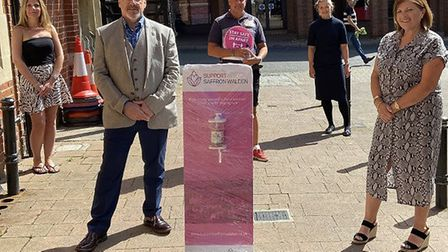 Archive from June 2020: Hand sanitiser stations placed in the town by Saffron Walden BID, and a Recovery Pack for...