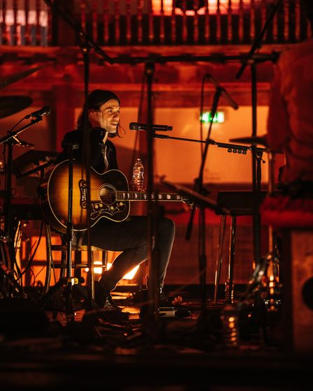 James Bay played a mixture of new releases and tracks from his early EPs. Picture: James Boardman