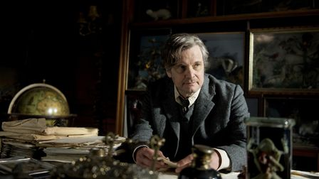 Colin Firth plays Archibald Craven in The Secret Garden. Scenes in his study were filmed at Knebworth House. Picture: STUDIOC...