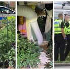 An early morning call to a suspected burglary in Churchill Road, Wisbech, led police to the discovery of a substantial...