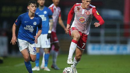 Stevenage were knocked out of the FA Cup first round by Peterborough United in 2019. Picture: GAVIN ELLIS/TGS PHOTO