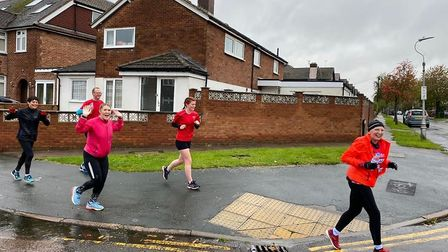 From left to right: Jo Gordon, Neil Drury, Abi Giles, Milly Drury and Ali Chason. Picture: Abi Giles