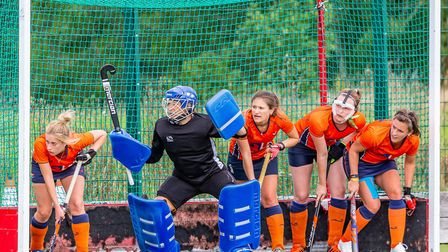 It was another busy weekend of action for St Albans Hockey Club's ladies. Picture: WWW.CHRISHOBSONWEDDINGS.PHOTOS
