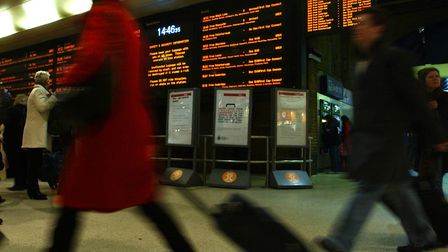 Rail passengers have been urged not to travel to or from London this weekend amid vital works to the East Coast Main Line.