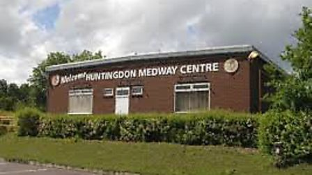 The Medway Centre in Huntingdon will be demolished to make way for a care home.