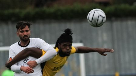 St Albans City came from behind to beat Ebbsfleet United 3-2 at Clarence Park in the National League South. Picture: JIM...