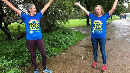 Runners took part in the Virtual Herts 10K and Half Marathon: Fenella Campa.