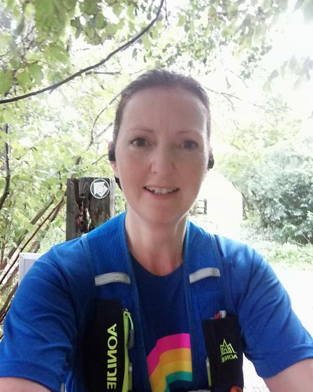 Runners took part in the Virtual Herts 10K and Half Marathon.Frances Armstrong
