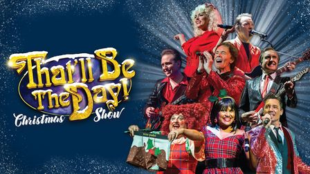 That'll Be The Day will stream their Christmas Show recorded at the Gordon Craig Theatre in Stevenage