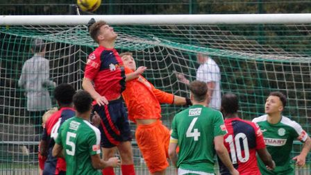 St Neots Town won 4-1 away to Bedworth United in the FA Trophy. Picture: DAVID RICHARDSON/RICH IN VIDEO