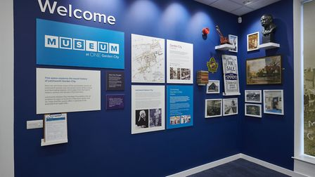 One Garden City micro-museum will reopen for the first time since lockdown next weekend. Picture: Letchworth Heritage...