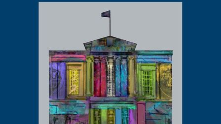 A group of 12 artists have come together to contribute art for the 2021 calendar. Picture: Gill Owen