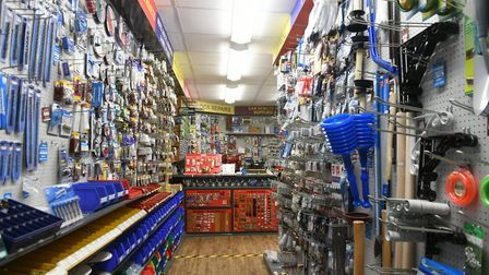 Shop Local feature. Interior of Anglia Locksmiths in Church Terrace, Wisbech. Pictures: Ian Carter