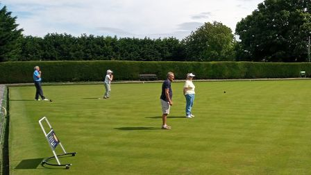 Steeple Morden Bowls Club have held their finals day in spite of the restrictions put on them by the coronavirus.