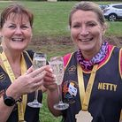Members of Three Counties Running Club returned to a new sense of normality by taking part in actual events. Picture: SARAH-J...