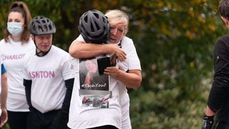 It was Heidi's final wish to take part in the Pedal for Pounds challenge, which her friends and family did in her memory.
