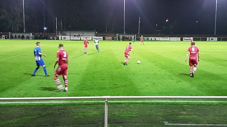 Eynesbury Rovers hosted Baldock Town in a Spartan South Midlands League Premier Division clash.