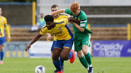 Kyran Wiltshire is one of a number of new signings that has bedded in quickly at St Albans City. Picture: DANNY LOO