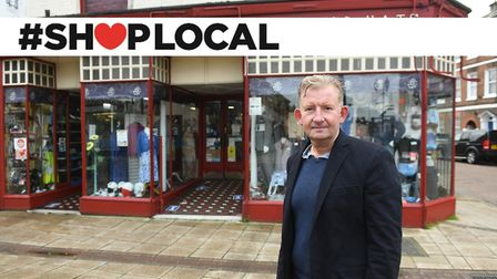 Neil Bullen from Evisons is backing the Wisbech Standard's Shop Local campaign. Pictures: Ian Carter