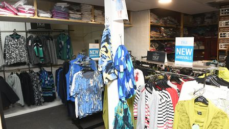 Shop Local feature - Inside Evisons on the High Street in Wisbech. Picutres: Ian Carter