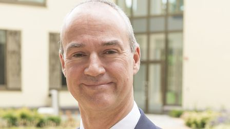North East Herts NHS Trust chief executive Nick Carver. Picture: NE Herts NHS Trust