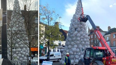 We're asking people in Wisbech if they really are furious over their new hand-me-down Christmas tree? Picture: Kim...