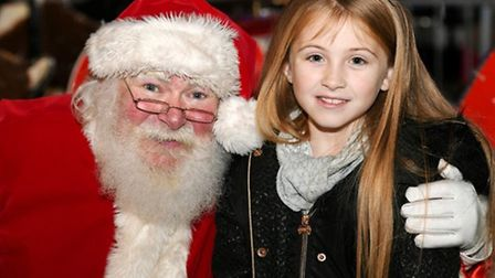 Children may not be able to sit on Santa's knee this year, but they can still have a socially distanced chat with him as...