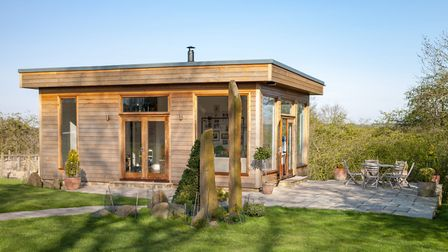 A home office at the bottom of the garden is the dream for many home workers. Picture: Getty Images/iStockphoto