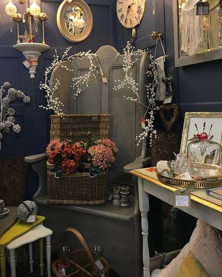 Homemade at The Barn in Kneesworth has locally made and artisan items for sale - owner Caroline Smith has said the venture...
