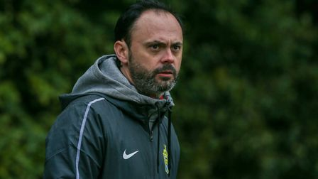 Harpenden Town manager Micky Nathan says plans are in alce for the four-week break. Picture: DANNY LOO
