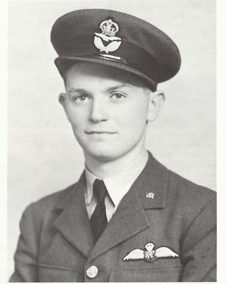 Pilot officer Philip Cardell from Great Paxton
