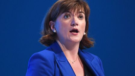 Nicky Morgan who is to stay on as culture secretary despite standing down as an MP at the general el