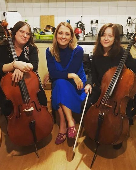 A free to view streaming concert by Alice Zawazki Band with Amica String Quartet forms part of the Cambridge Jazz Festival...