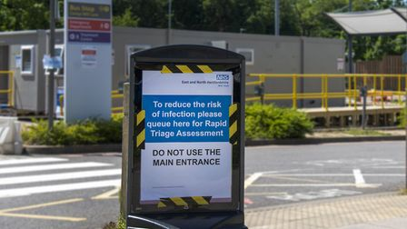 NHS workers from Lister Hospital in Stevenage had their bikes stolen while they worked. Picture: East and North Herts NHS...