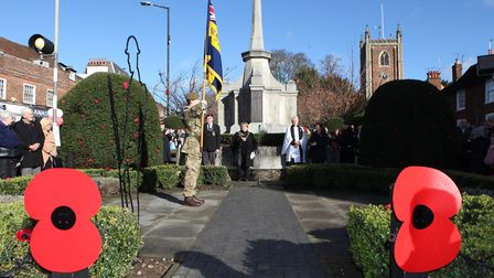 There are still ways of commemorating Remembrance Sunday across St Albans district. Picture: Craig Shepheard