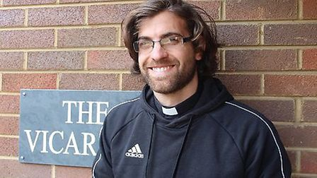 Nick grew up in Hitchin, and is about to return as the new vicar at St Marks. Picture: Supplied