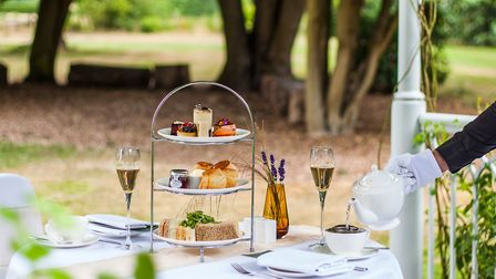 Afternoon tea at Sopwell House. Picture: Art Is Life Photography