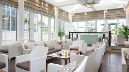 The conservatory bar will once agian welcome guests. Picture: Courtesy of Sopwell House
