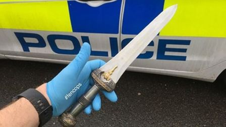 Crackdown on knife crime in Cambridgeshire this week.
