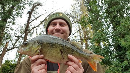 Paul Marriott was rewarded for his trip to a Fenland river with a two pound 12 ounce Perch.